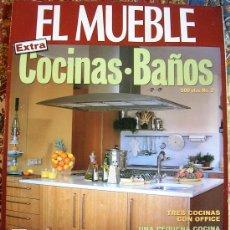 Coleccionismo de Revistas y Periódicos: REVISTA EL MUEBLE. Nº 2. EXTRA COCINAS . BAÑOS. ESPECIAL MARMOL.. Lote 33935226