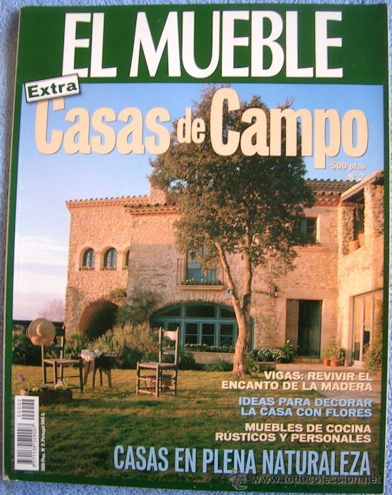 Revista el mueble n 2 extra casas de campo v comprar for Muebles para casa de campo