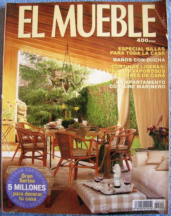 Revista el mueble n 444 especial sillas ba o comprar for El mueble especial banos