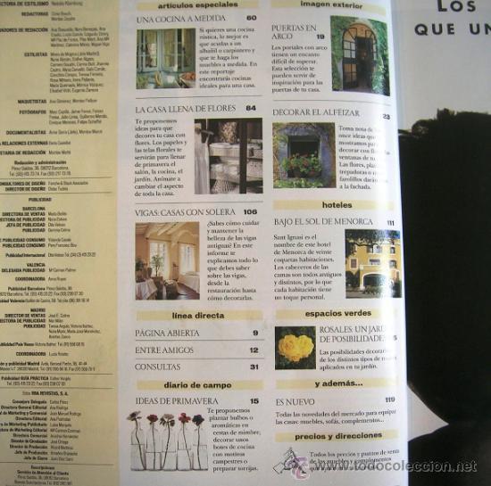 de revistas y peridicos revista el mueble n extra casas de campo with revistas de muebles y decoracion
