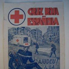 Coleccionismo de Revistas y Periódicos: BADALONA - CRUZ ROJA - GUERRA CIVIL - 1938. Lote 33961789