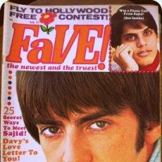 Coleccionismo de Revistas y Periódicos: ANTIGUA REVISTA FAVE!, JULIO 1968, MUY FAMOSA Y VENDIDA EN SU EPOCA ENTRE LA GENTE JOVEN. Lote 33971660