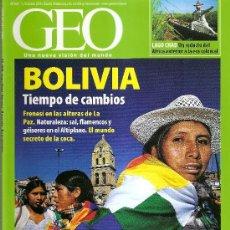 Coleccionismo de Revistas y Periódicos: GEO N 237. Lote 33995478