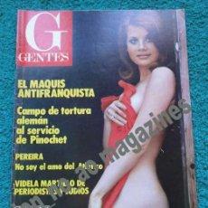 Coleccionismo de Revistas y Periódicos: GENTES Nº 41 /1977 ~ PEREIRA ATLETICO MADRID ~EL MAQUIS ANTIFRANQUISTA~ KATE JAKSON LINDSAY WAGNER. Lote 34038187