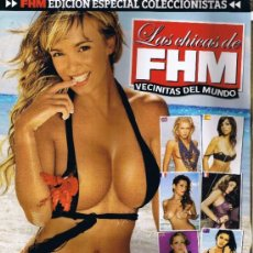 Colecionismo de Revistas e Jornais: SUPLEMENTO REVISTA FHM - EDICIÓN ESPECIAL COLECCIONISTAS - LAS VECINITAS DEL MUNDO. Lote 34053650
