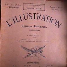 Coleccionismo de Revistas y Periódicos: REVISTA L´IILLUSTRATION Nº 3443 20 FEBRERO 1909. Lote 34054157