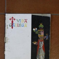 Coleccionismo de Revistas y Periódicos: RRR EJEMPLAR DE VIDA GALLEGA - NUMERO 730 EPOCA II - ENERO 1958 - 31X21 -. Lote 34079841