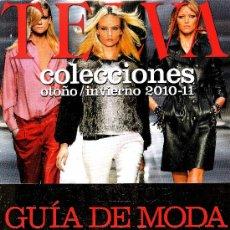 Coleccionismo de Revistas y Periódicos: TELVA COLECCIONES - OTOÑO/INVIERNO 2010-11. Lote 254141245