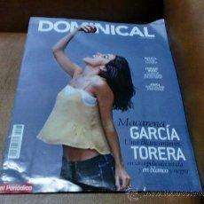 Coleccionismo de Revistas y Periódicos: REV.9/12 DOMINICAL,MACARENA GARCIA AMPLIO RPTJE. AKAROA,PERE PUIGDOMENECH,. Lote 34140184