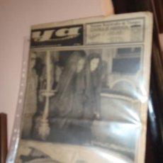 Coleccionismo de Revistas y Periódicos: PERIODICO YA MUERTE DE FRANCO. Lote 34141293