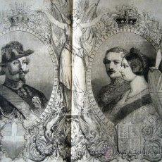 Coleccionismo de Revistas y Periódicos: (OG0303) GRABADO REVISTA THE ILLUSTRATED LONDON NEWS AÑO 1855 - COLECCION FEDERICO PASSARELL. Lote 34155416