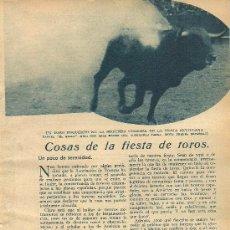 Coleccionismo de Revistas y Periódicos - * TOROS Y TOREROS * Rafael el Gallo; Marcial Lalanda, Nicanor Villalta - 1934 - 34175448
