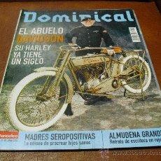 Coleccionismo de Revistas y Periódicos: REV. 6/2003 DOMINICAL-ABUELO DAVIDSON RPTJE.ALMUDENA GRANDES,RAFA BLANQUER,MODA. Lote 34217799