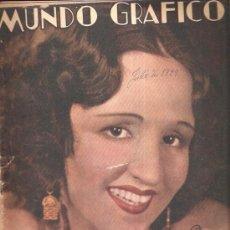Coleccionismo de Revistas y Periódicos: MUNDO GRAFICO 923. Lote 34218910