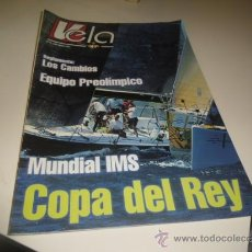 Coleccionismo de Revistas y Periódicos: VELA JULIO AGOSTO 2001 . Lote 34218945