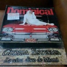 Coleccionismo de Revistas y Periódicos: REV. 5/98 DOMINICAL GLORIA ESTEFAN-RPTJE.MARIA ESTEVE,BENITEZ REYES,J.ANISTON POSTER/ALBUM. Lote 53645575