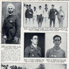 Coleccionismo de Revistas y Periódicos: MARRUECOS 1924 TERCIO Y REGULARES HOJA REVISTA. Lote 34224092