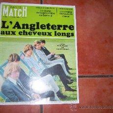 Coleccionismo de Revistas y Periódicos: PARIS MATCH Nº 886, L`ANGLETERRE AUX CHEVEUX LONGS, PORTADA ROLLING STONES. Lote 34733980