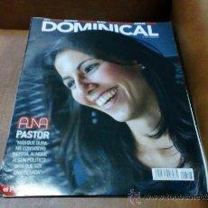 Coleccionismo de Revistas y Periódicos: REV. 10/12 DOMINICAL .-ANA PASTOR- AMPLIO RPTJE. GREEN DAY,K. Y M.LABÈQUE,PERFUMES.. Lote 34244826