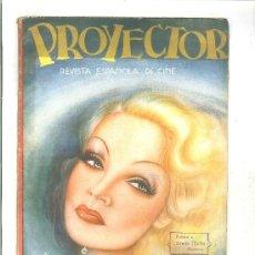 Coleccionismo de Revistas y Periódicos: PROYECTOR. REVISTA ESPAÑOLA DE CINE. Lote 34287222