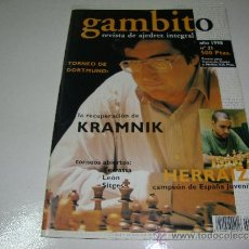 Coleccionismo de Revistas y Periódicos: AJEDREZ. CHESS. GAMBITO Nº 21. Lote 34300429