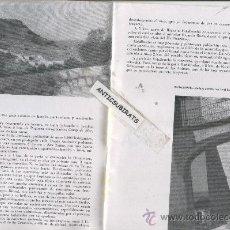 Coleccionismo de Revistas y Periódicos: REVISTA.AÑO 1958.BAÑALBUFAR.DEYA.DEIA.VALLDEMOSA SOLLER. Lote 34300867