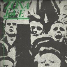 Coleccionismo de Revistas y Periódicos: ZONA JOVE REUS 1981 EDITADA CONSELL MUNICIPAL DE LA JUVENTUT. Lote 34375054