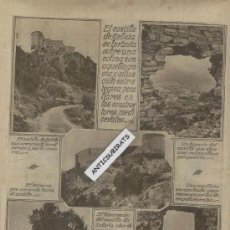 Coleccionismo de Revistas y Periódicos: REVISTA AÑO 1927 CASTILLO DE GELIDA PESCA ANCHOA PALAFRUGELL SANT POL ARENYS DE MAR MATARO. Lote 34388467