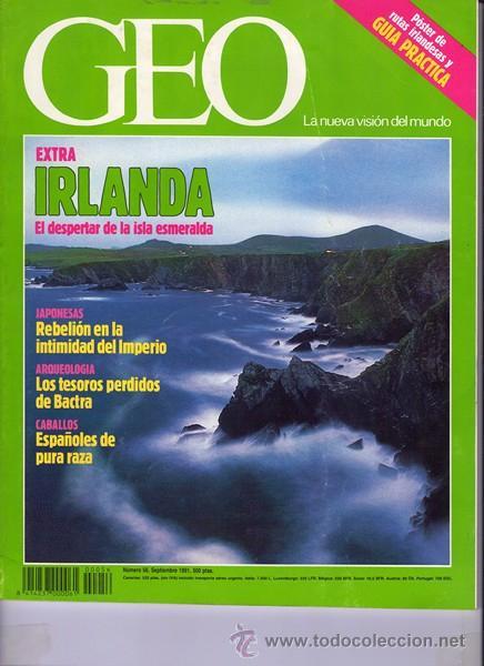 REVISTA GEO NR.56 SEPTIEMBRE 1991 (Coleccionismo - Revistas y Periódicos Modernos (a partir de 1.940) - Otros)