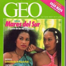Coleccionismo de Revistas y Periódicos: REVISTA GEO NR.59 DICIEMBRE 1991. Lote 34395145