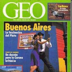 Coleccionismo de Revistas y Periódicos: REVISTA GEO NR.92 SEPTIEMBRE 1994. Lote 34395272