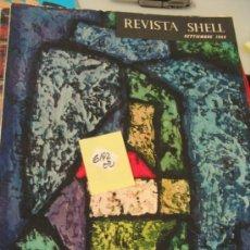 Coleccionismo de Revistas y Periódicos: REVISTA SHELL195712,40 € . Lote 34474285