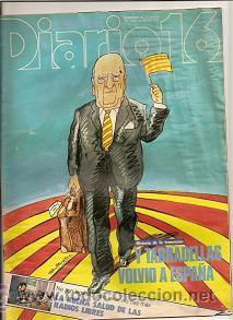 SEMANAL DIARIO 16. 20 DE MAYO DE 1984 (Coleccionismo - Revistas y Periódicos Modernos (a partir de 1.940) - Otros)