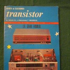 Coleccionismo de Revistas y Periódicos: TRANSITOR AÑOVI NOVIEMBRE 1968 Nº70. Lote 34483491