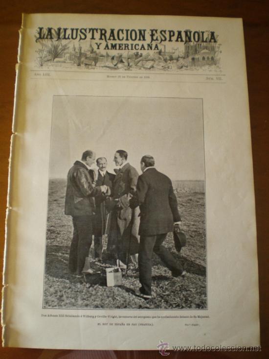 ILUSTRACION ESPAÑOLA/AMERICANA (22/02/09) VILLAVICIOSA PASAJES GUIPUZCOA EL ESCORIAL CORDOBA CUBAA (Coleccionismo - Revistas y Periódicos Antiguos (hasta 1.939))