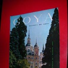 Coleccionismo de Revistas y Periódicos: REVISTA DE ARTE GOYA Nº 46 1962. Lote 34493401