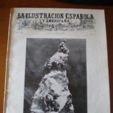 Coleccionismo de Revistas y Periódicos: ILUSTRACION ESPAÑOLA/AMERICANA (15/03/09) TOLEDO SANTANDER PEREDA COUNAUT SACAMUELAS ALGECIRAS . Lote 34494171