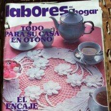 Coleccionismo de Revistas y Periódicos: REVISTA LABORES DEL HOGAR Nº 270, NOVIEMBRE 1980 - CON PATRONES. Lote 34497770