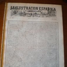 Coleccionismo de Revistas y Periódicos: ILUSTRACION ESPAÑOLA/AMERICANA (08/08/09) BARCELONA MELILLA ALGECIRAS TALAVERA REINA AEROSTATO. Lote 34501981