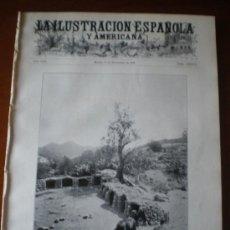 Coleccionismo de Revistas y Periódicos: ILUSTRACION ESPAÑOLA/AMERICANA (30/09/09) MARRUECOS MAR CHICA SEGOVIA SALAMANCA ALBACETE CABO AGUA. Lote 34510488