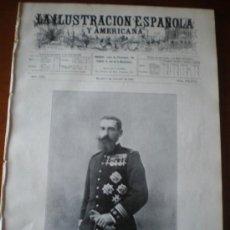 Coleccionismo de Revistas y Periódicos: ILUSTRACION ESPAÑOLA/AMERICANA (08/10/09) SAN CUGAT GUADIX GURUGU DIRIGIBLE SEVILLA MARRUECOS ARMADA. Lote 34511251
