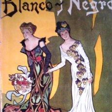 Coleccionismo de Revistas y Periódicos: REVISTA BLANCO Y NEGRO 1902 TENPORADA TAURINA 1902 FOTOS . Lote 34528283