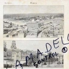 Coleccionismo de Revistas y Periódicos: MURCIA VISTAS REVERSO HOJA 1906-1914 HOJA REVISTA. Lote 34530449