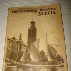 Coleccionismo de Revistas y Periódicos: LA ENCICLOPEDIA GRÁFICA ** SUECIA ** .AÑO 1930 .EDITORIAL CERVANTES . Lote 34608394