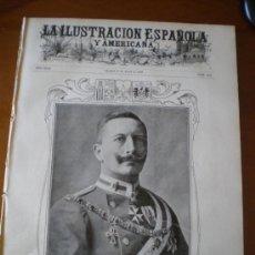Coleccionismo de Revistas y Periódicos: ILUSTRACION ESPAÑOLA/AMERICANA (15/04/05) MADRID CANAL ISABEL II ALCALA HENARES BRULL CONDES SASTAGO. Lote 34586336