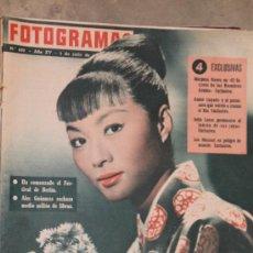 Coleccionismo de Revistas y Periódicos: FOTOGRAMAS - 1-7-1960 N.605. Lote 34586395