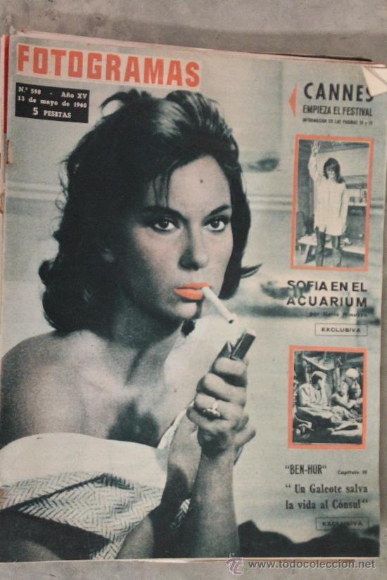 FOTOGRAMAS - 13-5-1960 N.598 (Coleccionismo - Revistas y Periódicos Modernos (a partir de 1.940) - Otros)