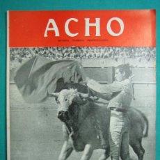 Coleccionismo de Revistas y Periódicos: REVISTA AMERICANA TAURINA INDEPENDIENTE ACHO LIMA (PERÚ) 1947. N 41. Lote 34636875