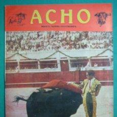 Coleccionismo de Revistas y Periódicos: REVISTA AMERICANA TAURINA INDEPENDIENTE ACHO LIMA (PERÚ) MARZO 1948. N 66. Lote 34637031