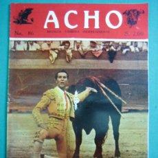 Coleccionismo de Revistas y Periódicos: REVISTA AMERICANA TAURINA INDEPENDIENTE ACHO LIMA (PERÚ) 1952. N 86. Lote 34637209
